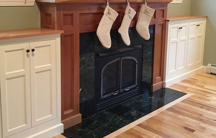Classic Fireplace Cabinets -