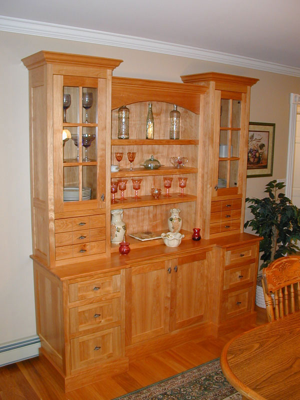 Custom Dining Room Cabinet