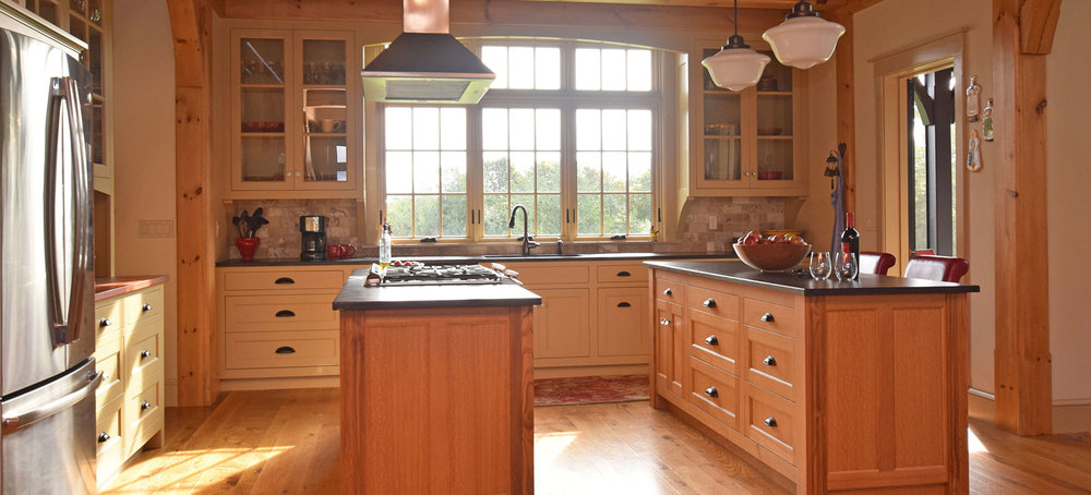 Kitchen Cabinet With Oak Cabinets