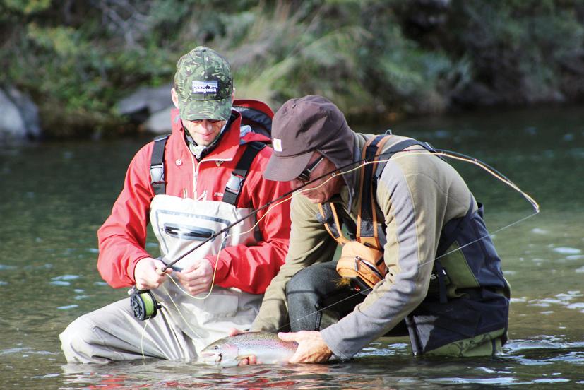 Pesca enPunta Arenas -