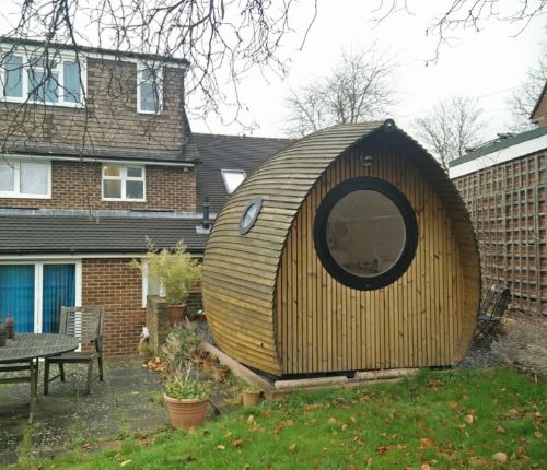 The Armadilla, a highly sustainable armadillo-shaped dwelling.
