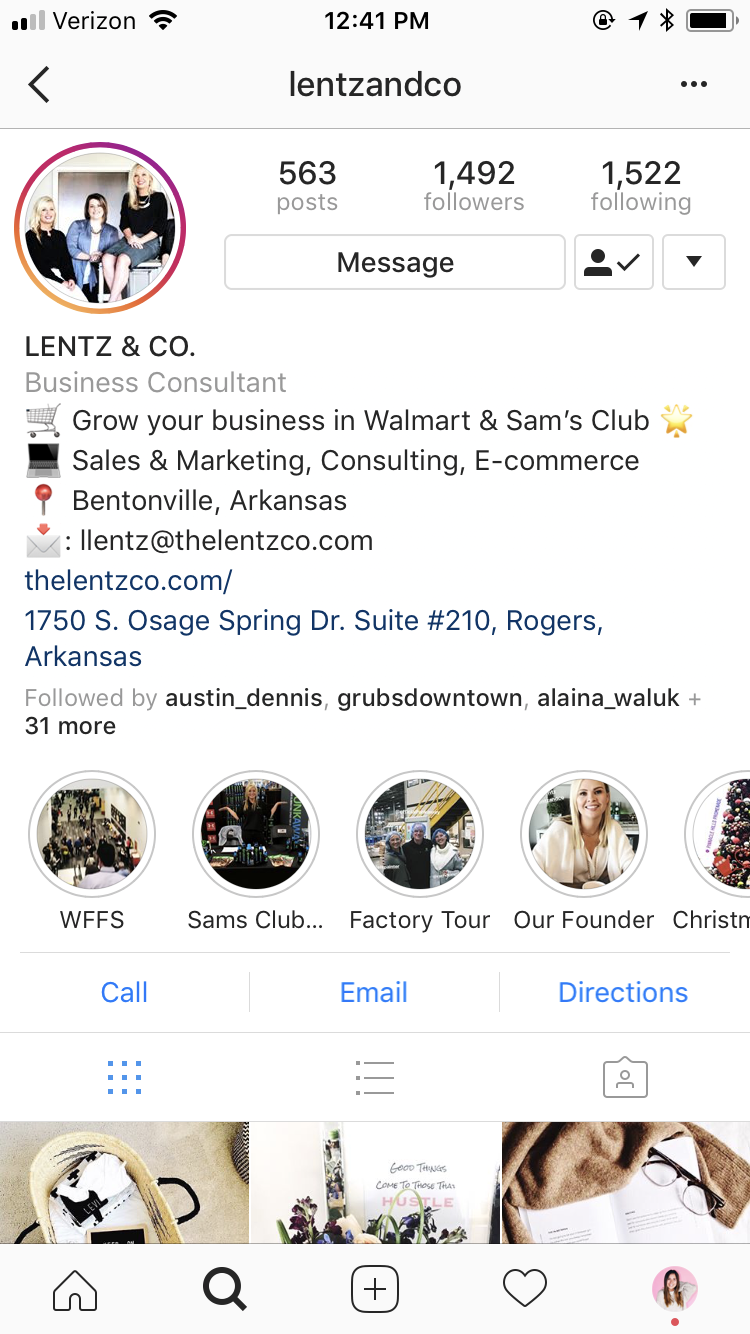 Lentz & Company - Social Media Marketing