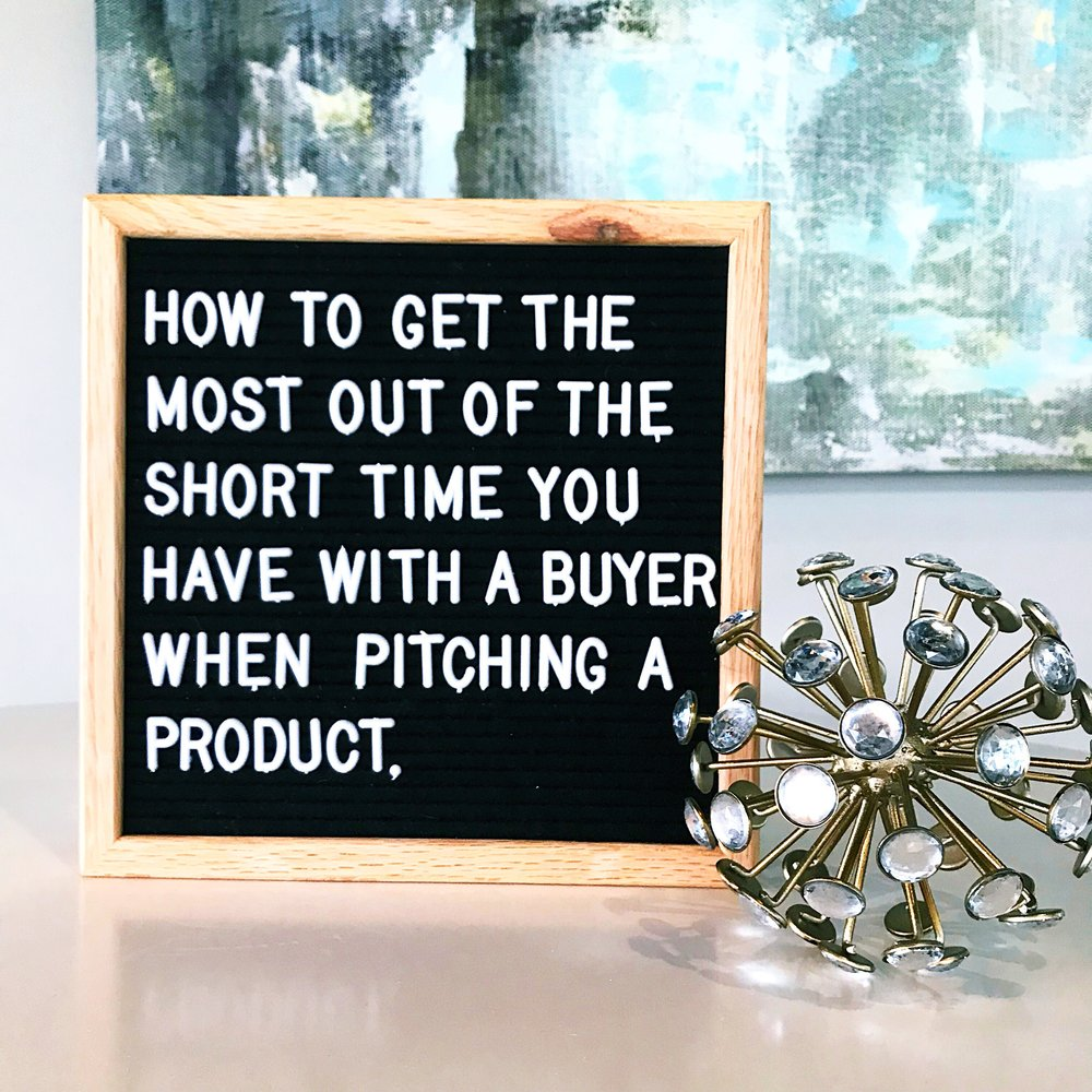 Tip Tuesday: How to get themost out of the short time you have with a buyer when pitching a product - Lentz & Company