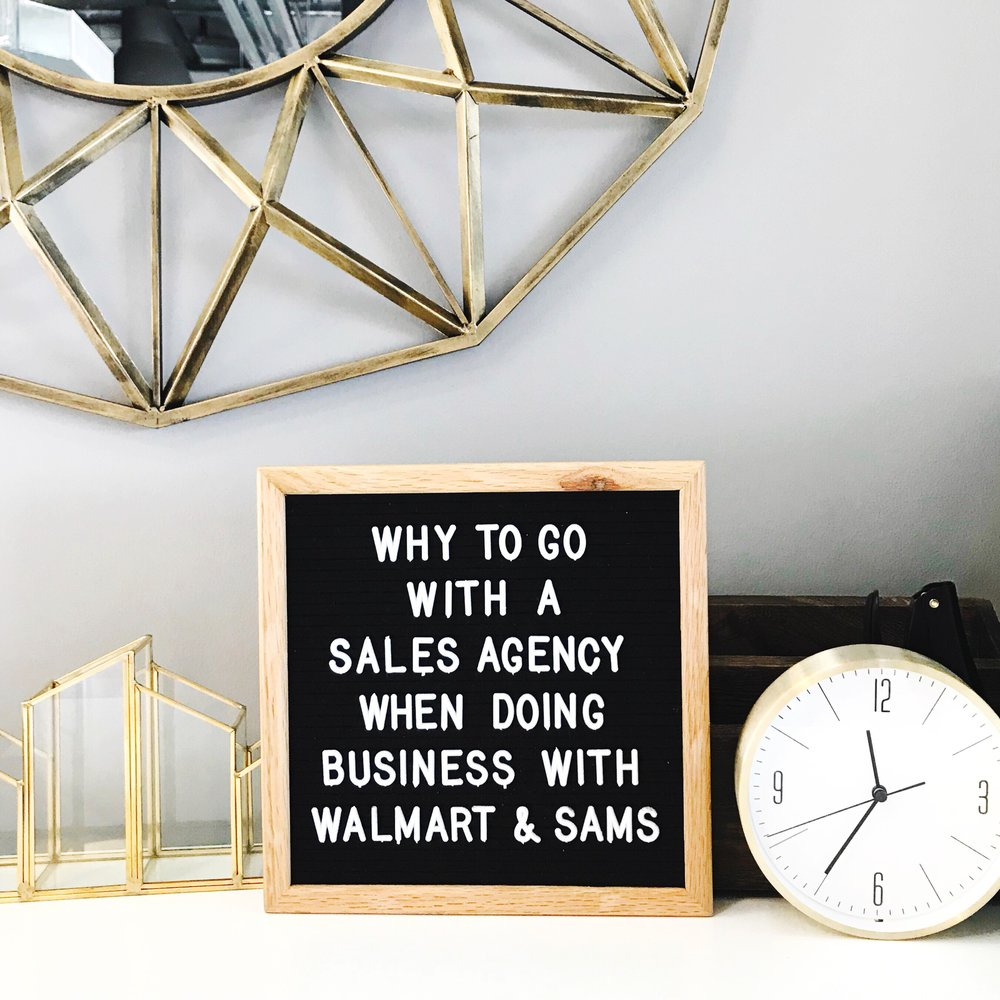 Why to go with a Sales Agency when doing business with Walmart and Sam's Club - Lentz & Company