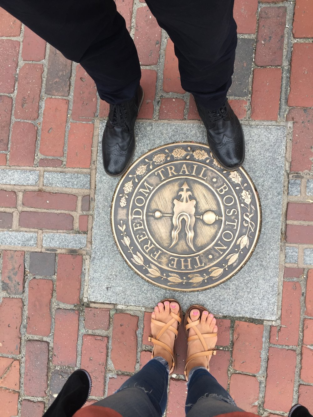 We didn't get to do the full freedom trail last time we were there, so I made that a priority this time. It is a must! Lots of walking, but totally worth it!