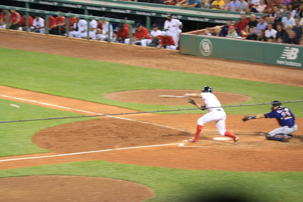 That a way Pedroia!