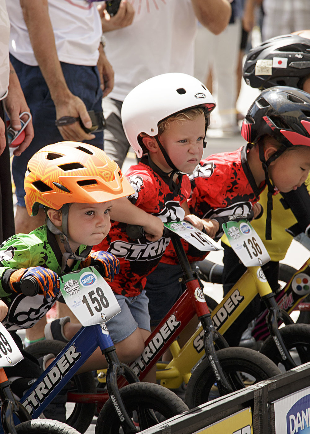 Boston's Strider bike race