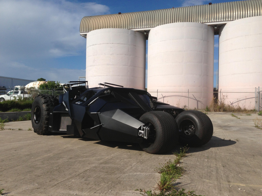 Batman Tumbler - Sold to private collector