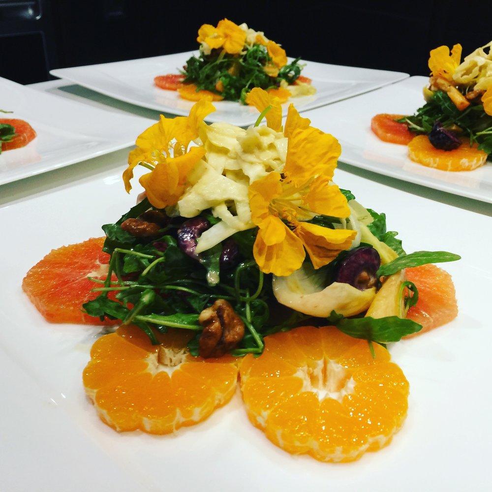 Citrus & Cherry Salad