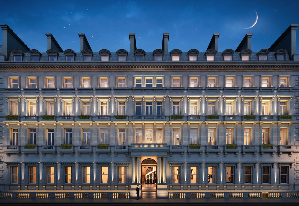 No.1 Palace Street - Buckingham Gate Façade Night.jpg