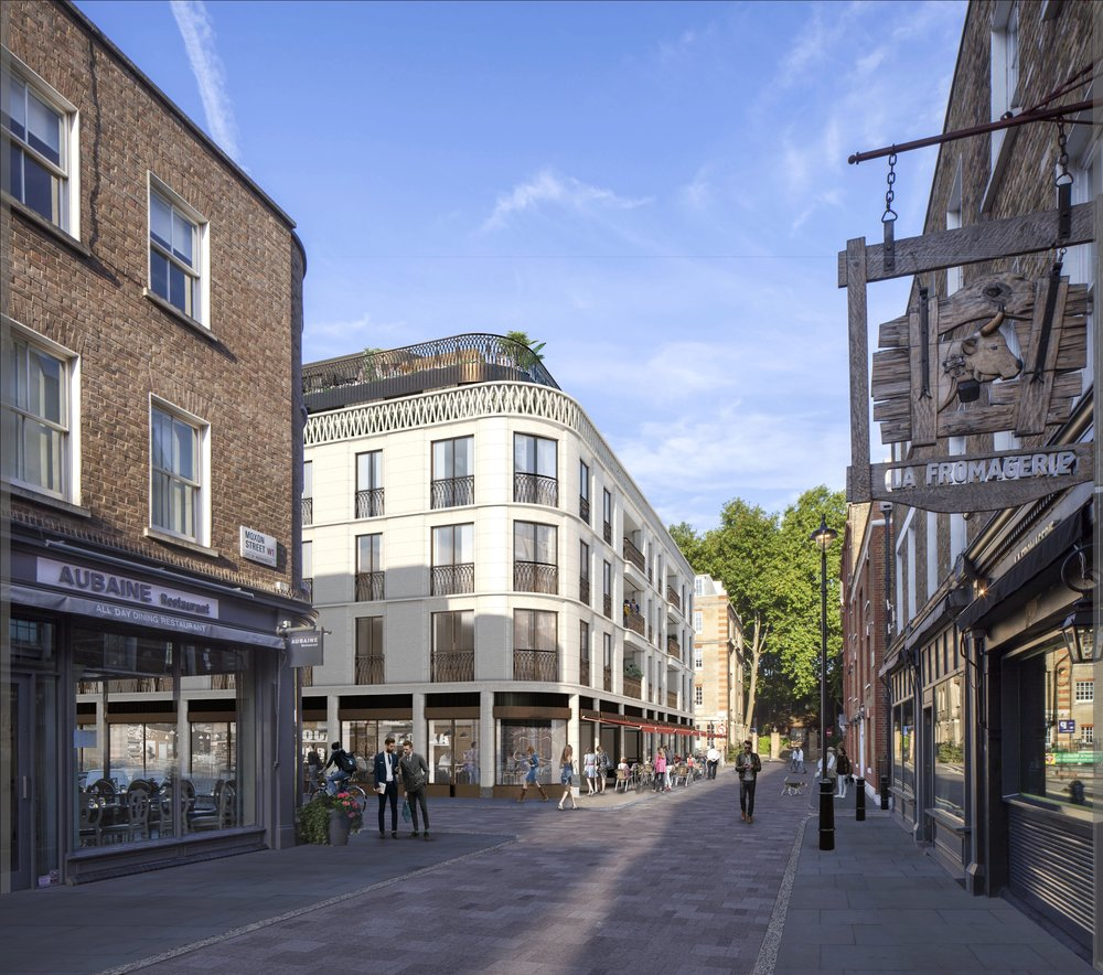Moxon Street Corner