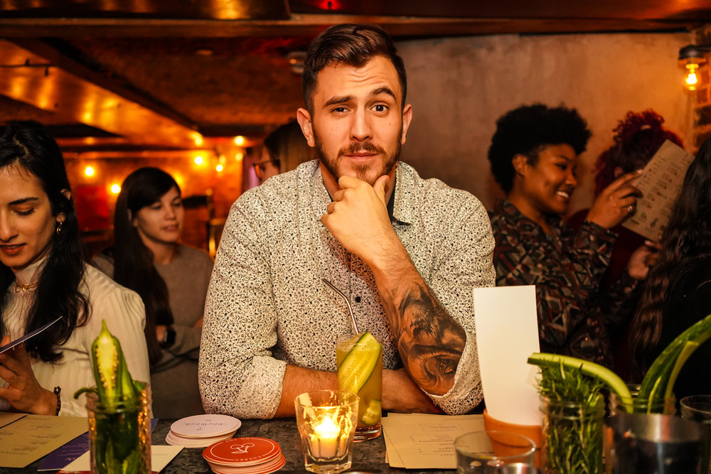 """""""A clubby pop-up that gives patrons a chance to party without alcohol."""" - THE ATLANTIC"""