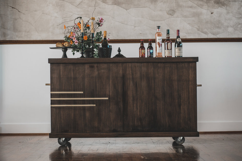 the aero bar edison bar carts