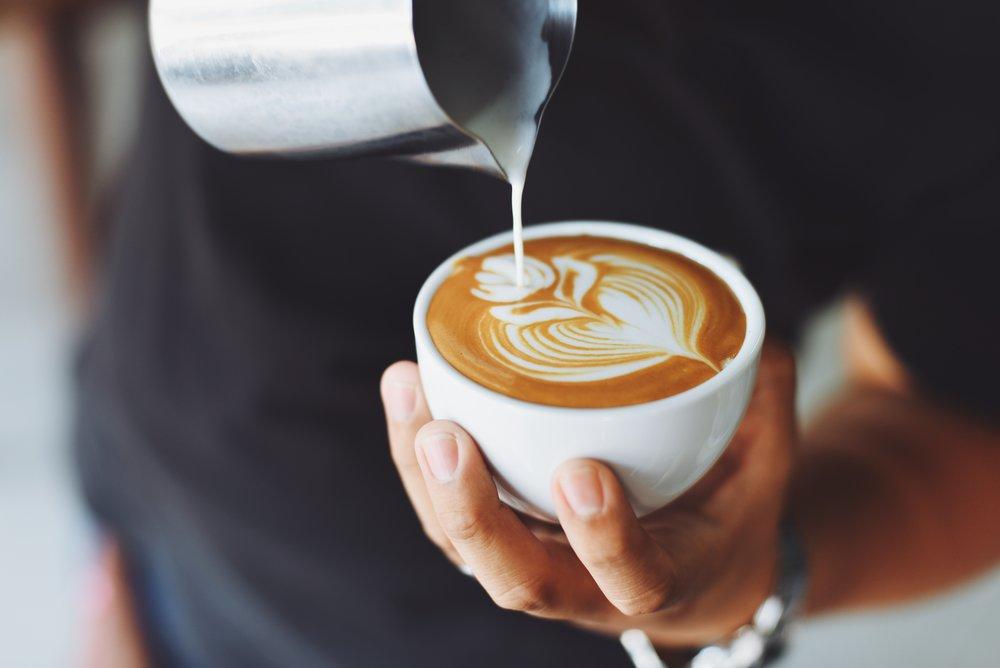the aero bar coffee + espresso service