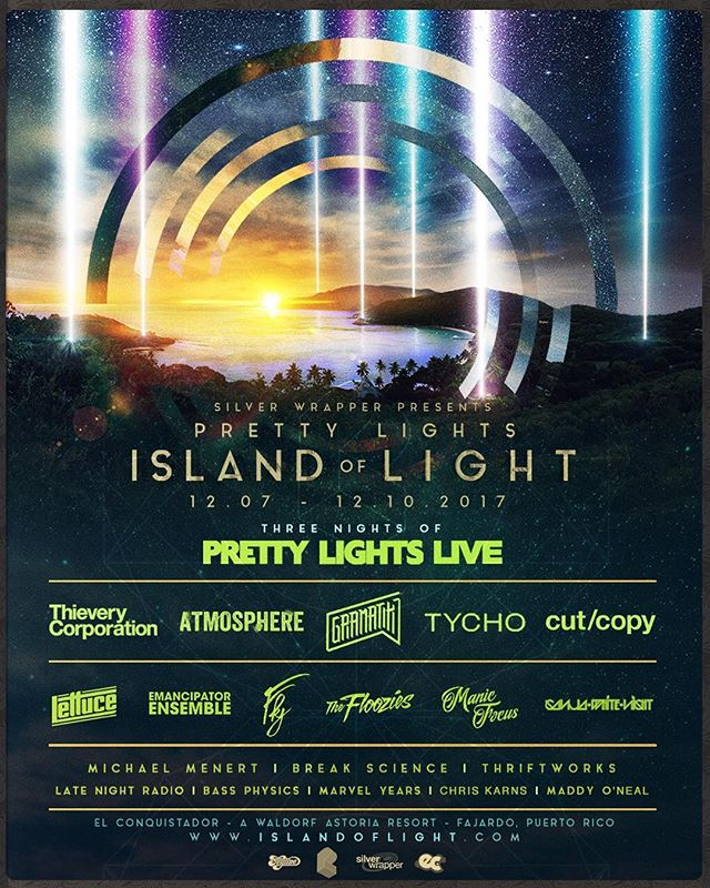 ✨Introducing... #IslandofLight 2017✨  12.07.2017 - 12.10.2017  El Conquistador - A Waldorf Astoria Resort | Fajardo, Puerto Rico  All packages on sale Fri. 05/12 at 12 pm EST / 9 am CST 🌴 islandoflight.com 🌴