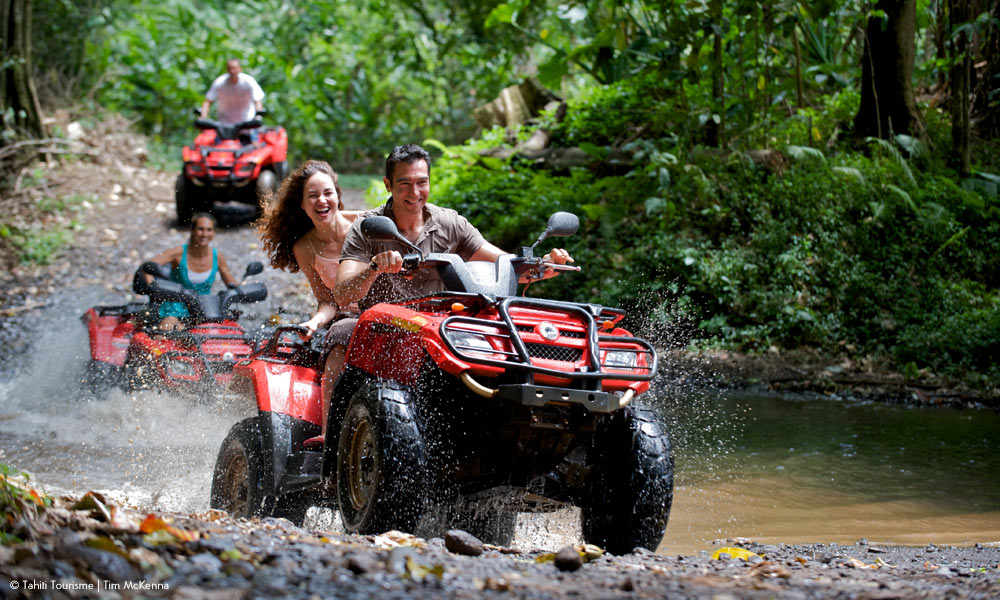 ATV ADVENTURE - Get ready for the ultimate adventure. Check your mature self at the gate and embark on an adrenalin rush like none other, because remember, life is too short to walk…ATV (all-terrain vehicle) four-wheel dirt-bike tours are the most talked about adventures in Puerto Rico. Take part in an inspiring and exciting ride through raw nature.