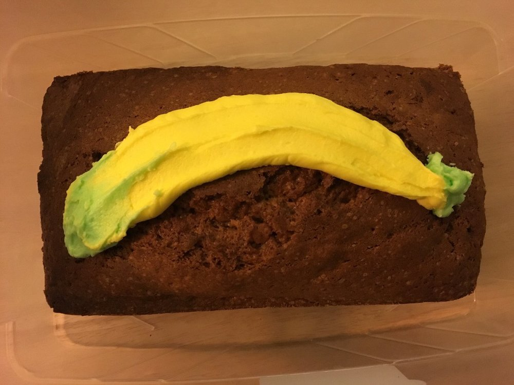 Banana loaf - (my dad's favourite)