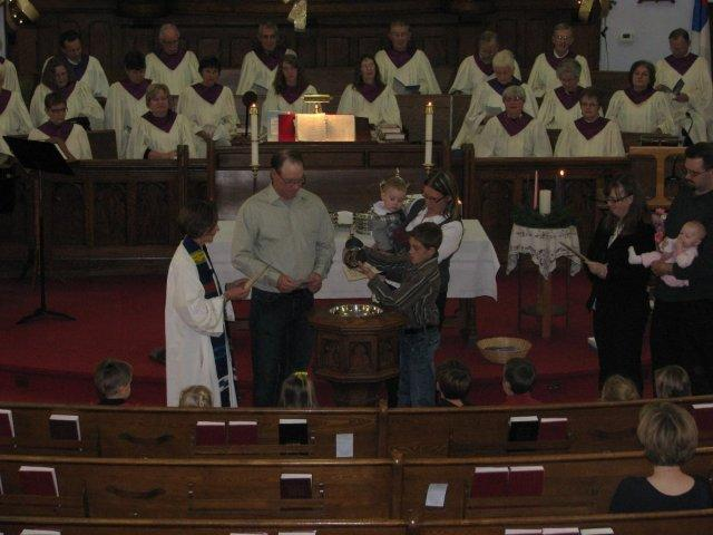 Advent Sunday 1st November 28, 2010 Baptism of Brian Watson son Barrett (4).jpg