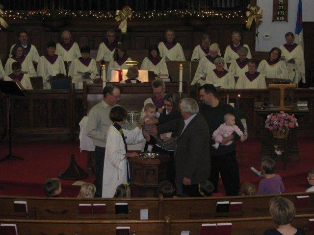 Advent Sunday 1st November 28, 2010 Baptism of Brian Watson son Barrett (8).jpg