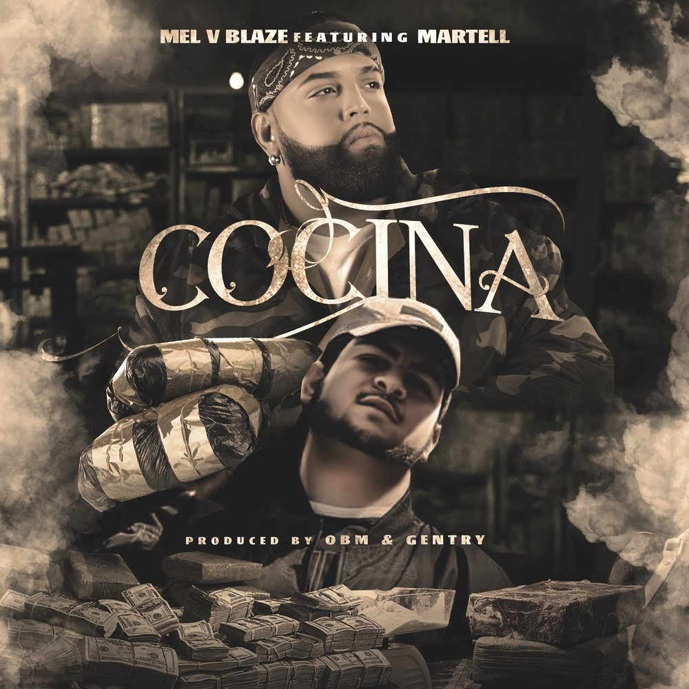 "justright records latino artist mel v blaze releasing ""cocina"" featuring martell november 4th produced by: obm beats & gentry beats"