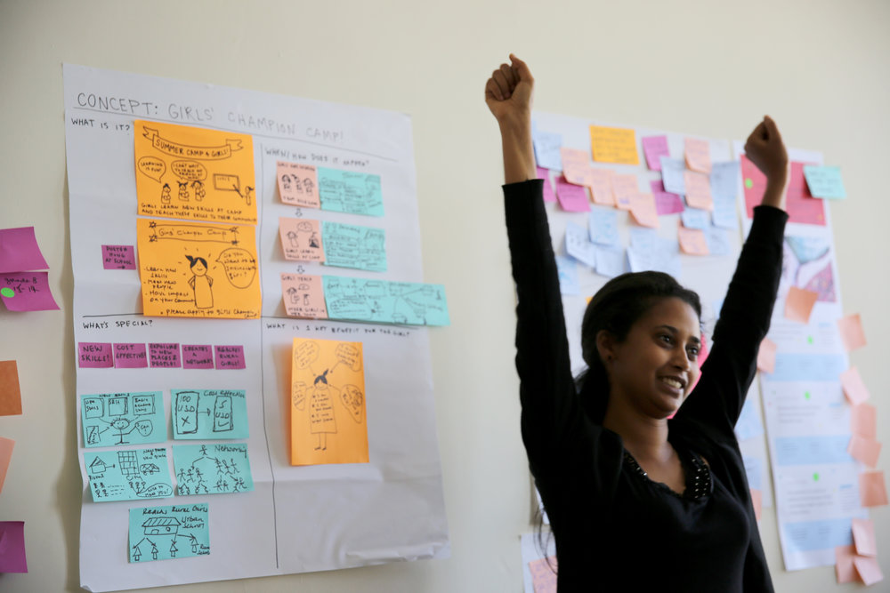 Genet Ebuy's voice, alongside A360's 260+ young designers, is at the center of how A360 drives youth-powered sexual and reproductive health breakthrough.