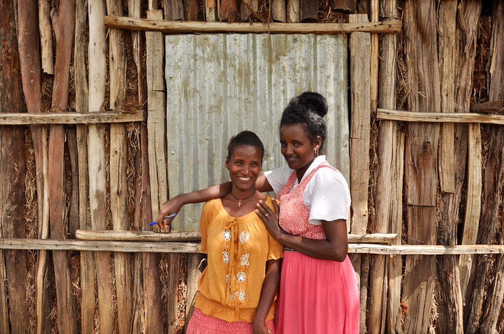 Through the HCD process, young Ethiopian girls to us that they wanted their children to have better quality lives—a factor that leads them to desire financial stability and smaller families.