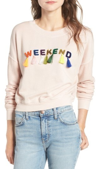 This is the softest sweatshirt I've found this season!