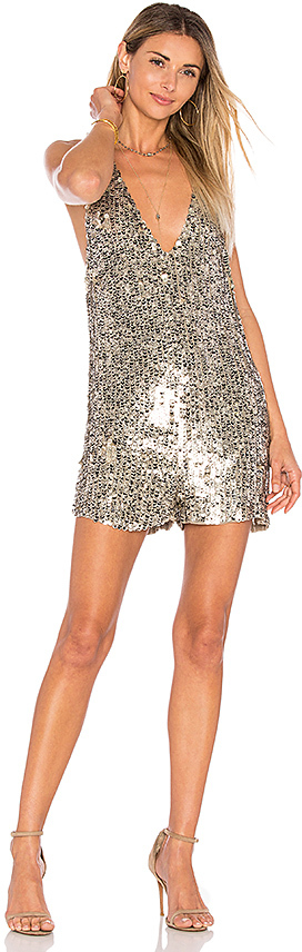 Sequin Romper? I can't say that I own this, but I wish I did. $225