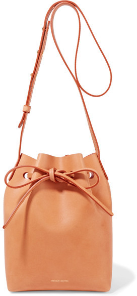The best mini bucket bag that comes in various colors.