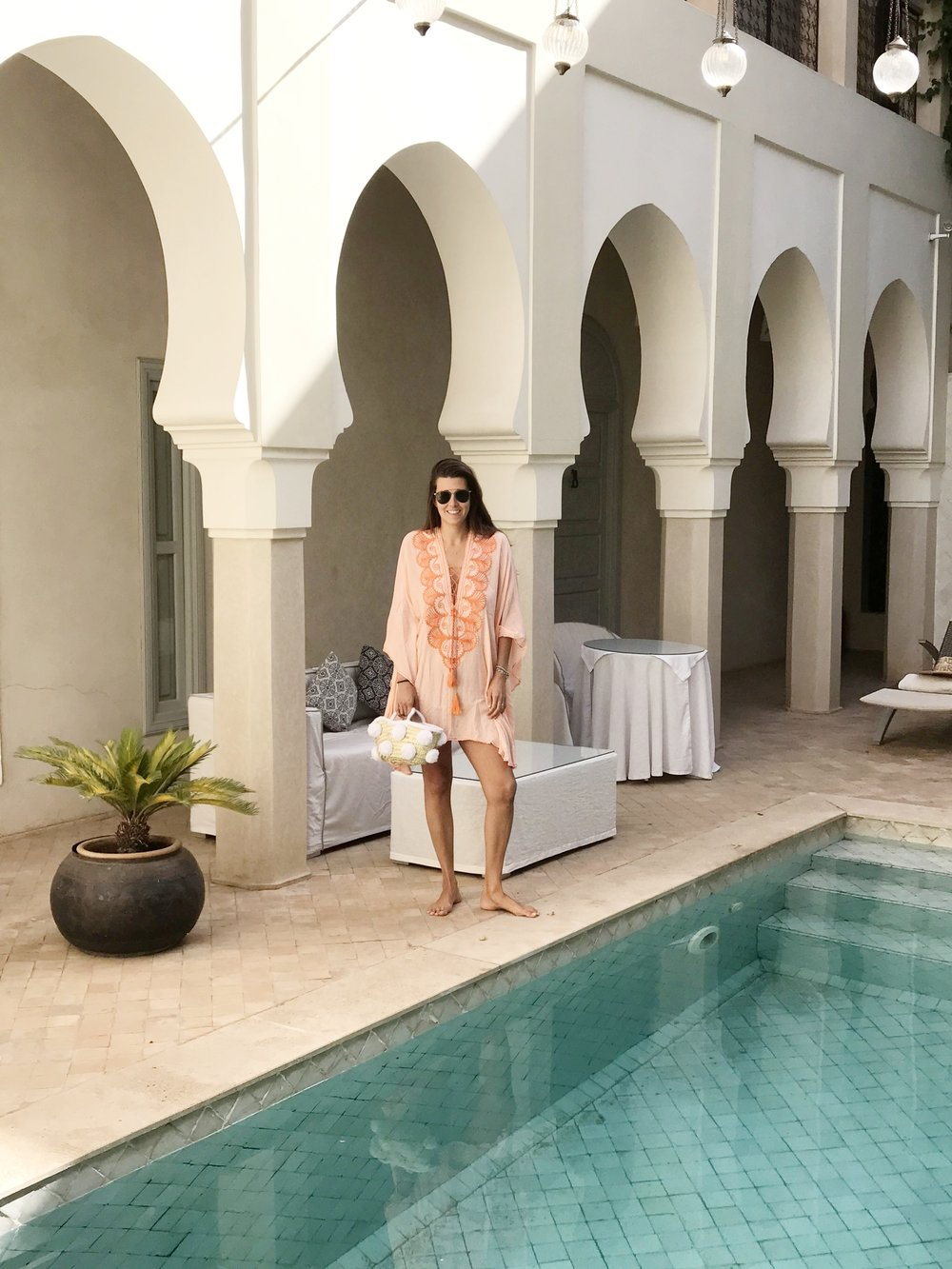 #NotAModel - But, when in such a beautiful place, with a new collection of Caftans- you do what you gotta' do!