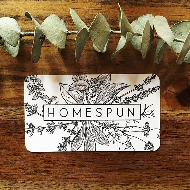 Apologies for the radio silence over here. Homespun is still alive and well and we're currently working on some pretty new things to introduce to you! 🌿 Keep your eyes peeled, I can't wait to show you!