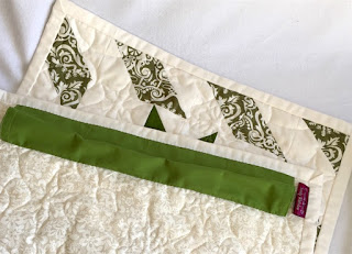 Adding a Hanging Sleeve  - Adding a simple tube to display your quilt projects.