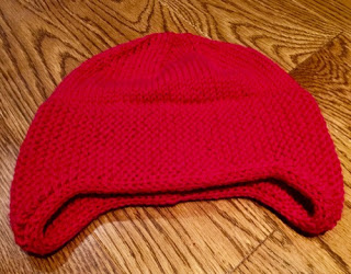 1898 Hat - Super warm toque! Doubled at ears.