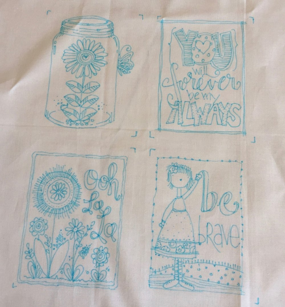 Embroidery Pattern - Make your own pattern