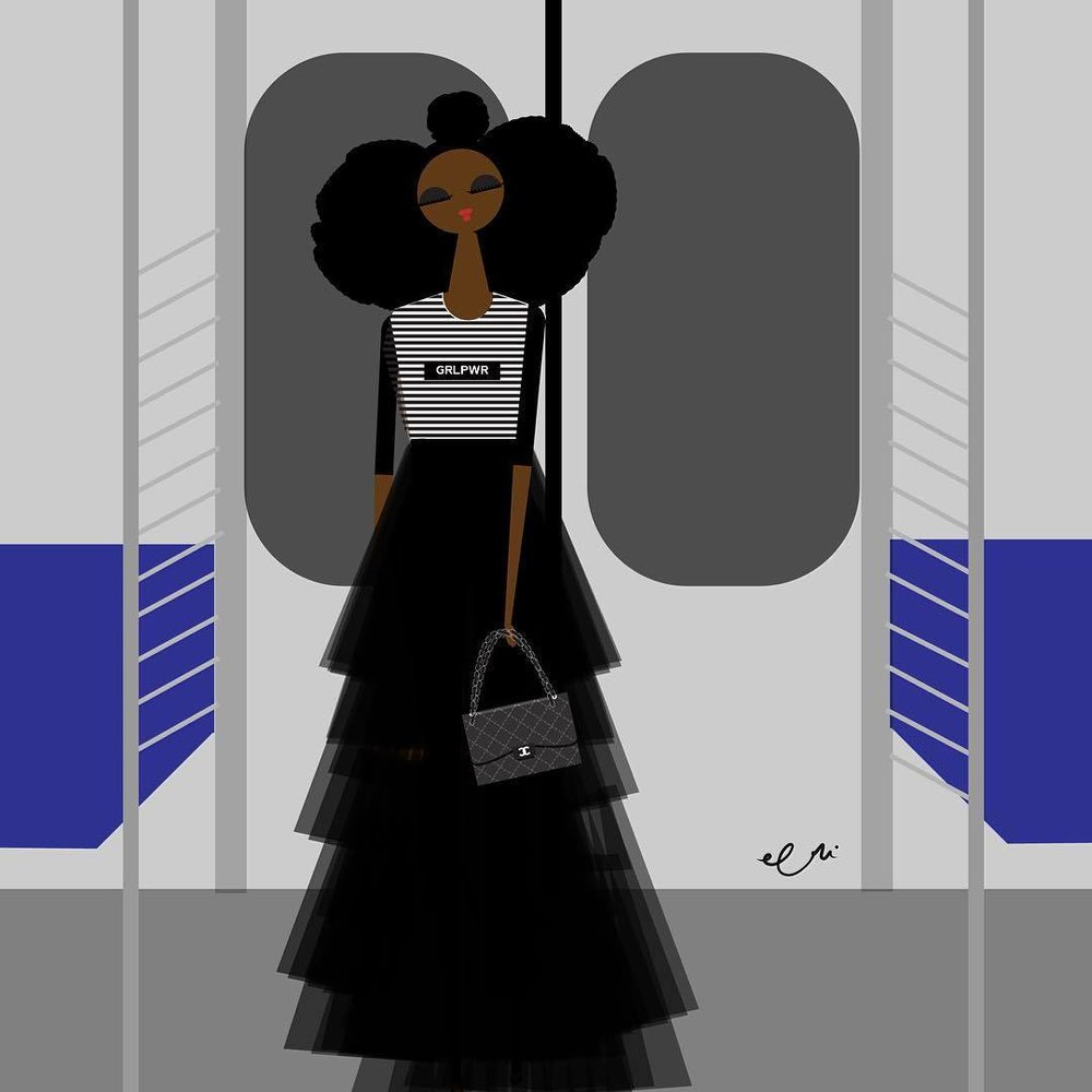 I did it! First time on a NYC train !…On my way to the @Guggenheim