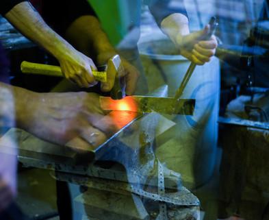 Forging Swords