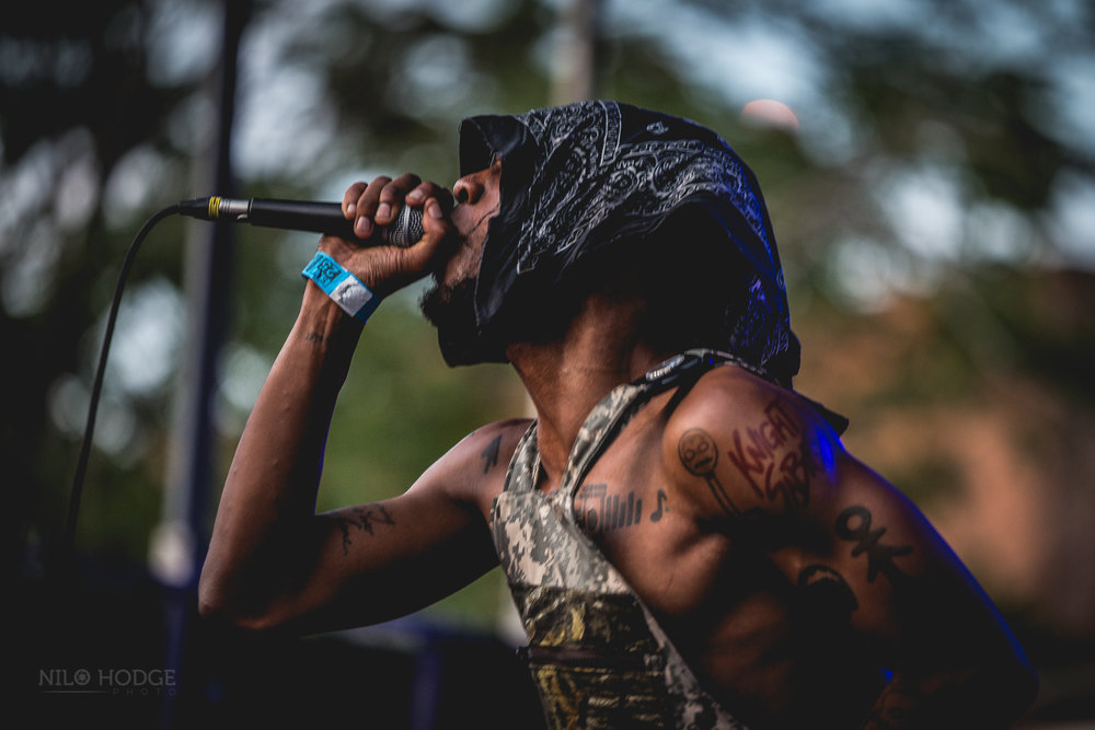 JPEG Mafia at AfroPunk Fest