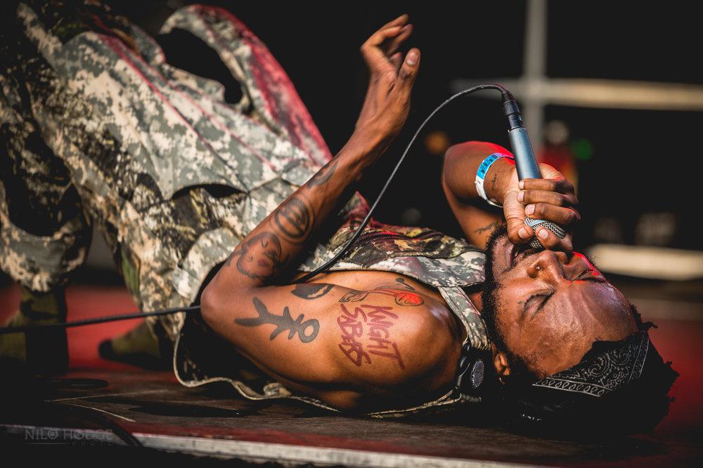 JPEG Mafia at AfroPunk Fest in Brooklyn, NY