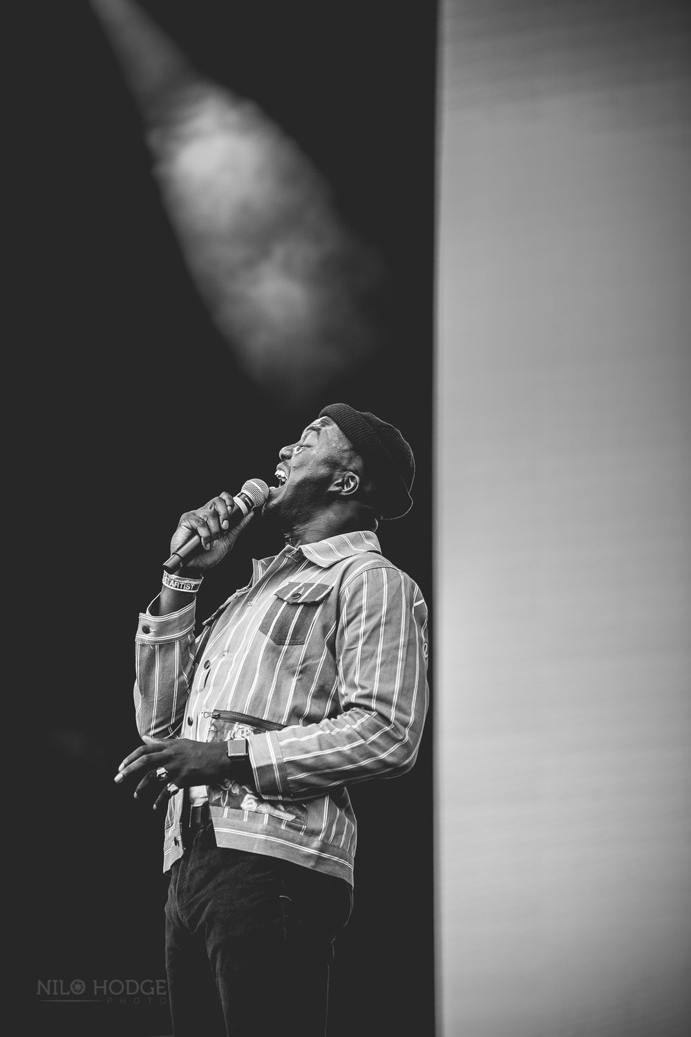 Jacob Banks at AfroPunk Fest in Brooklyn, NY