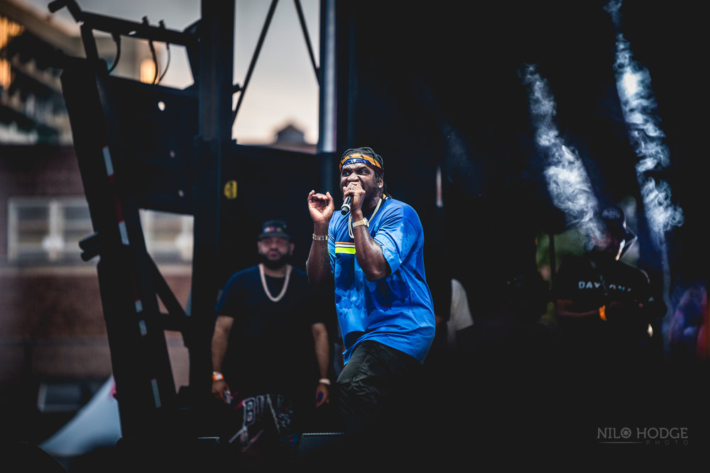 Pusha T at AfroPunk Fest in Brooklyn, NY