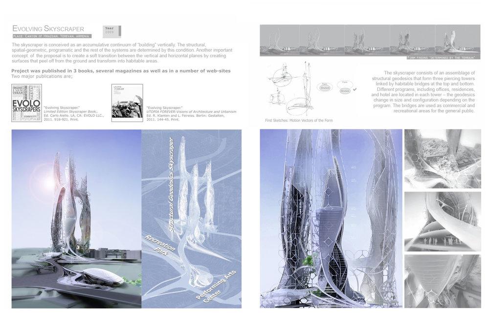 Evolving skyscraper