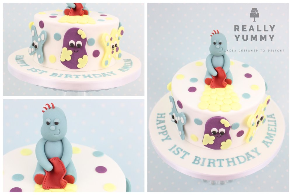 Iggle Piggle cake from In the Night Garden