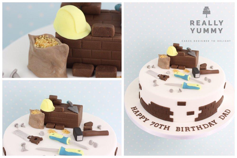 Builder's cake