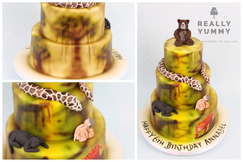 Jungle Book cake