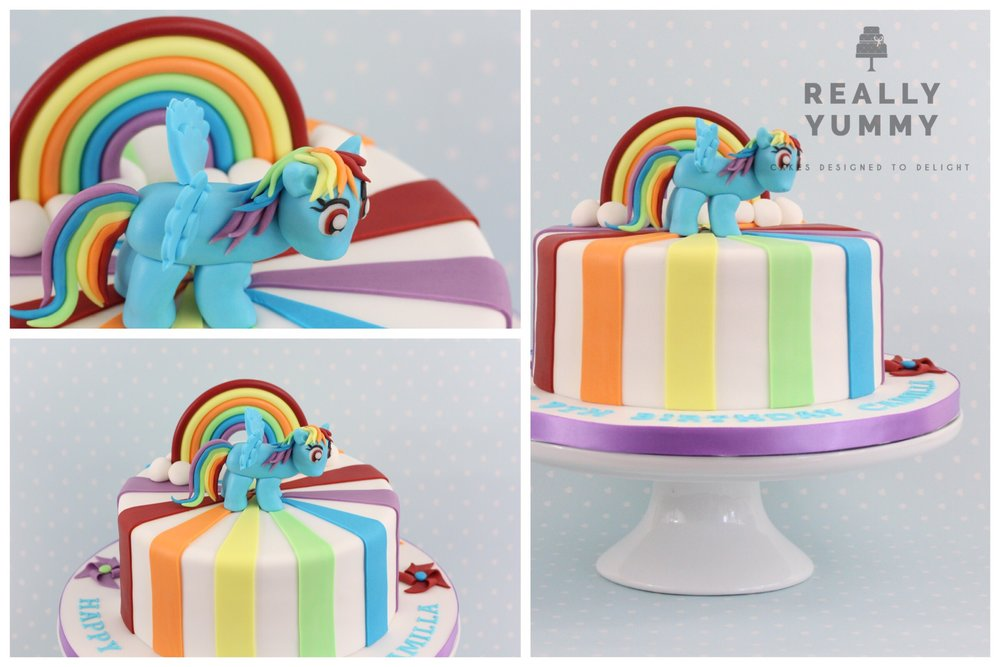 My Little Pony, Rainbow Dash cake