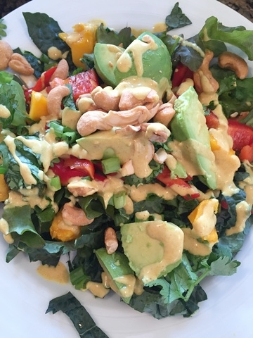 Thai Coconut Curry Dressing | Make This Food Blog
