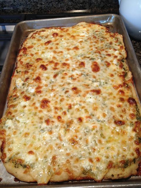 Bruschetta Pizza Make This Food Blog