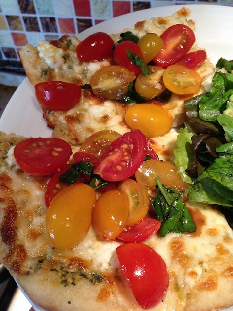 Get in my belly, Bruschetta Pizza!