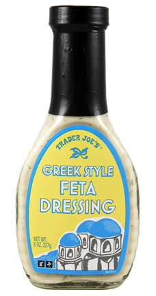Trader Joes Greek Style Feta Dressing