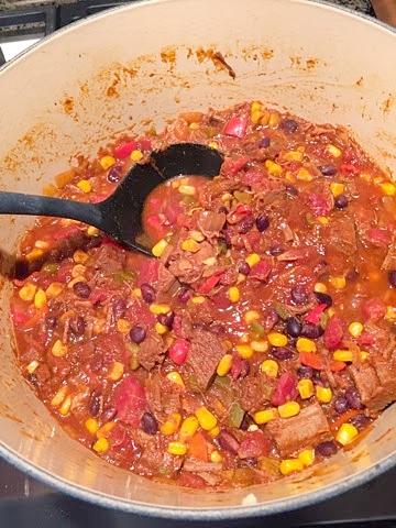 Leftover Brisket Chilli Make This Food Blog